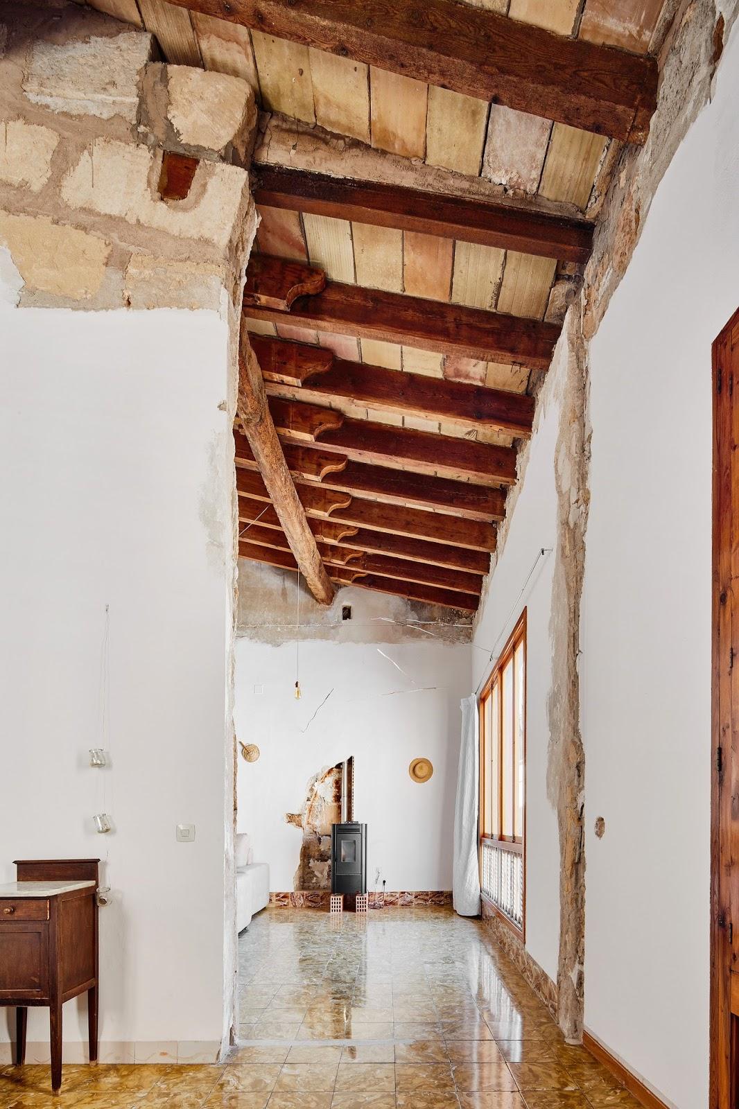 Новый подход в обновлении старого дома на Мальорке
