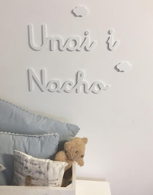 Nombres de niño y niña para decorar la pared