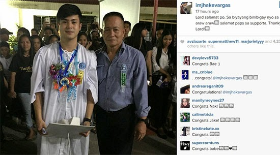 Jake Vargas prohibited to attend own Graduation rites