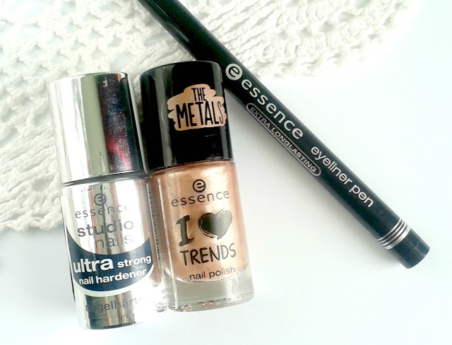 Essence Studio Nails Ultra Strong Nail Hardener, Essence I <3 Trends Nail Polish The Metals in 33 rose beats