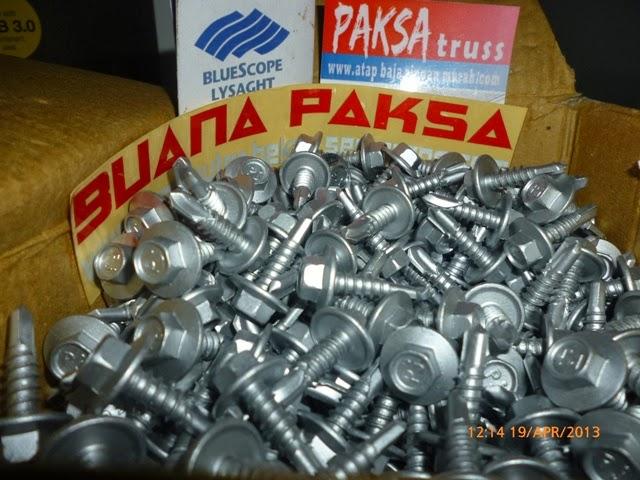 Daftar Harga Baja Ringan Tasikmalaya Jual Murah Pabrik Distributor Screw Mur Baut Skrup Sekrup