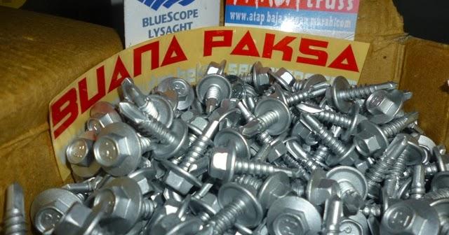 daftar harga baja ringan tasikmalaya jual murah pabrik distributor screw mur baut skrup ...