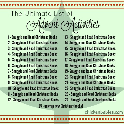 Because what more do you need? Great list of books to read aloud with kids during the holiday season to help your family get in the Christmas spirit!