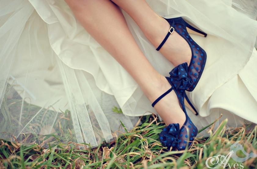 Lamb & Blonde: Wedding Wednesday: Shoes For Something Blue