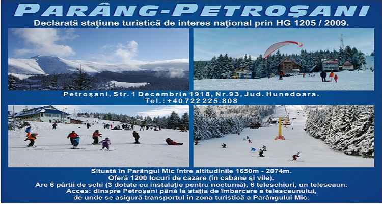 Stațiune turistica de ski Parâng - Petroșani