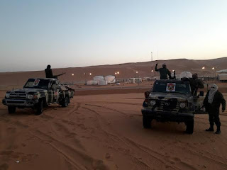 Libya's Presidential Council declared a military alert