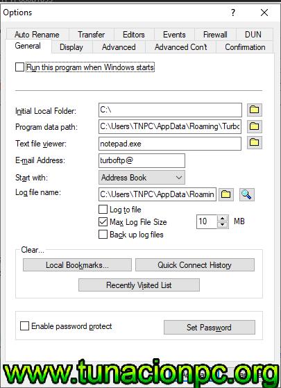 TurboFTP Gratis Enterprise