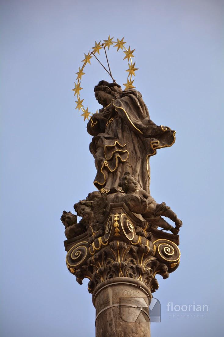 Kolumna Maryjna w Hradec Králové - atrakcje turystyczne, informacje praktyczne, przewodnik po najważniejszych zabytkach - Velké náměstí (Duży Rynek)