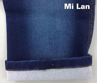 Vải Jean bố 2 da giá rẻ S256