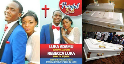 Young couple found dead two weeks after their wedding in Kaduna State