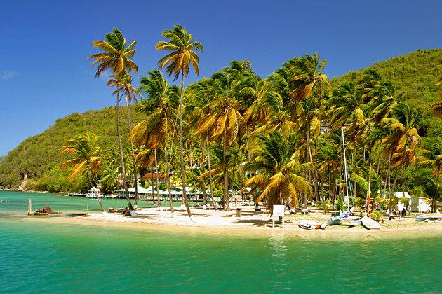 Marigot Bay,St Lucia