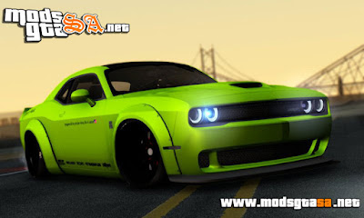 Dodge Challenger Hellcat Liberty Walk LB Performance