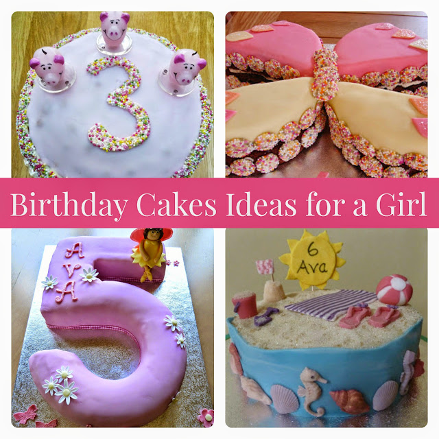 Birthday cake ideas for a little girl