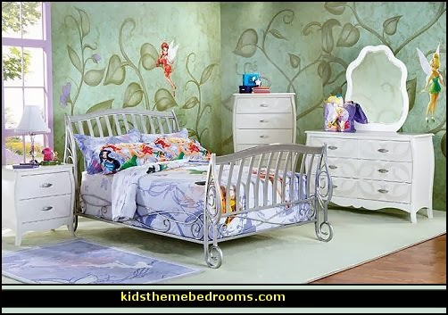 Decorating theme bedrooms maries manor fairy tinkerbell for Tinkerbell bedroom furniture
