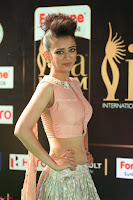 Akshara Haasan in Peachy Crop Top Choli Skirt at IIFA Utsavam Awards 74.JPG