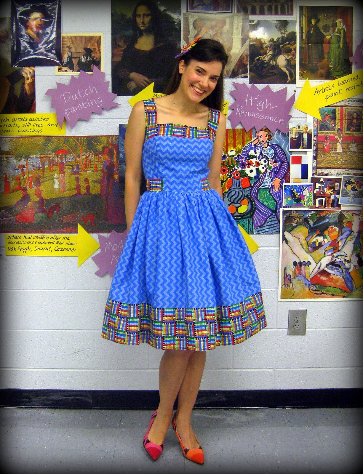 Cassie stephens sewing a dress diy a crayon tastic dress and a giveaway solutioingenieria Choice Image
