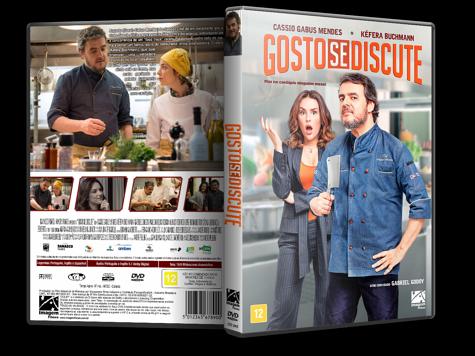 Capa DVD Gosto se Discute