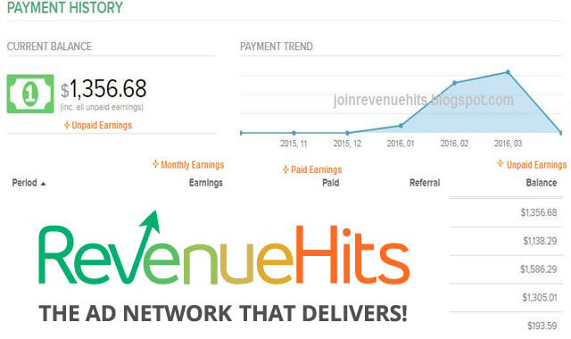 شرح عن كيفيه التسجيل في موقع revenuehits اقوى بديل لجوجل ادسنس مواصفات رائعة ارباح جيدة