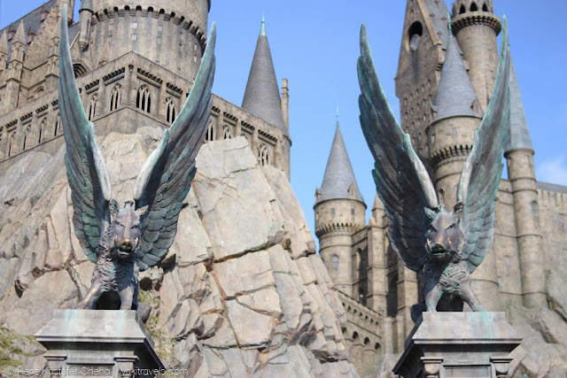 The gates to Hogwarts