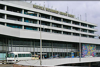 Earthquake in Lagos Airport