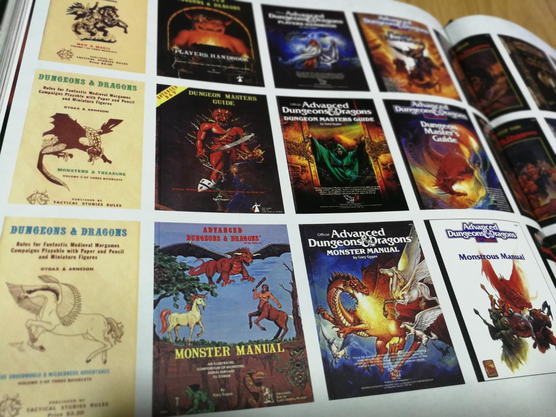 Art & Arcana - Guía de Dungeons & Dragons - tomos básicos evolución