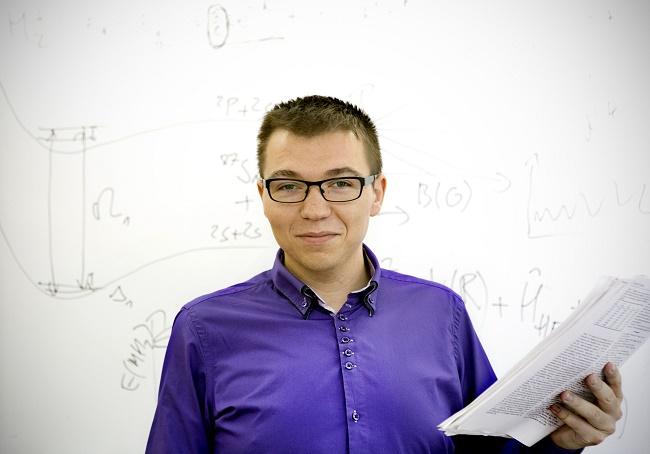 dr Michal Tomza -fot. M. Wiśniewska-Krasińska