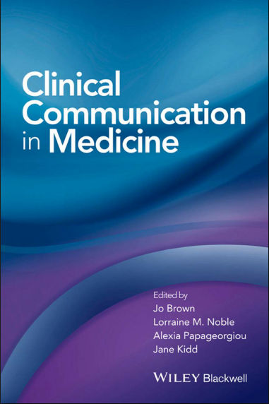 Clinical Communication in Medicine PDF (Jan 19, 2016)