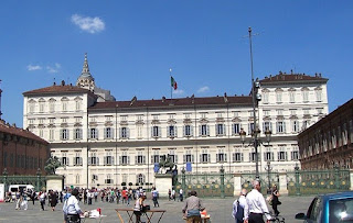 The Palazzo Reale in Turin was built in the 16th century  and modified by the Baroque architect Filippo Juvarra