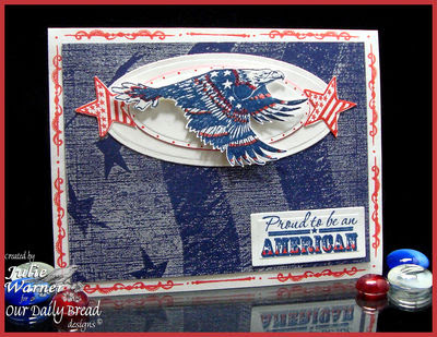 Our Daily Bread Designs, Home of the Free, Patriotic Eagle 1
