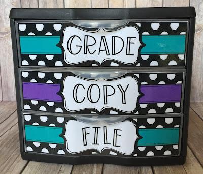 Teacher Organization Storage Ideas
