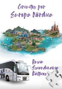Catálogo de viajes Circuitos por Europa Nórdica