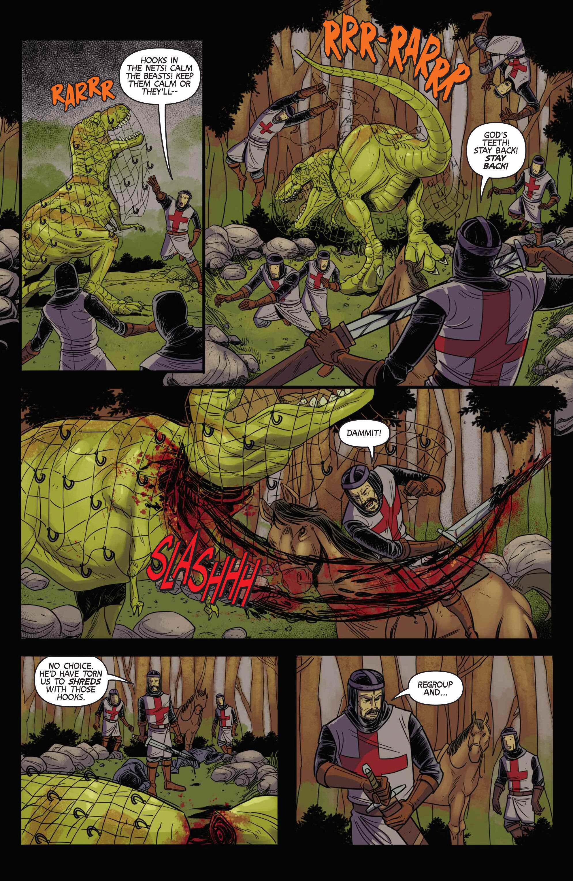 Read online Turok: Dinosaur Hunter (2014) comic -  Issue # _TPB 3 - 82