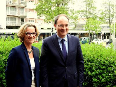 ROUEN. Guillaume Bachelay a présenté sa candidature pour les élections législatives dans son fief de Grand-Quevilly.