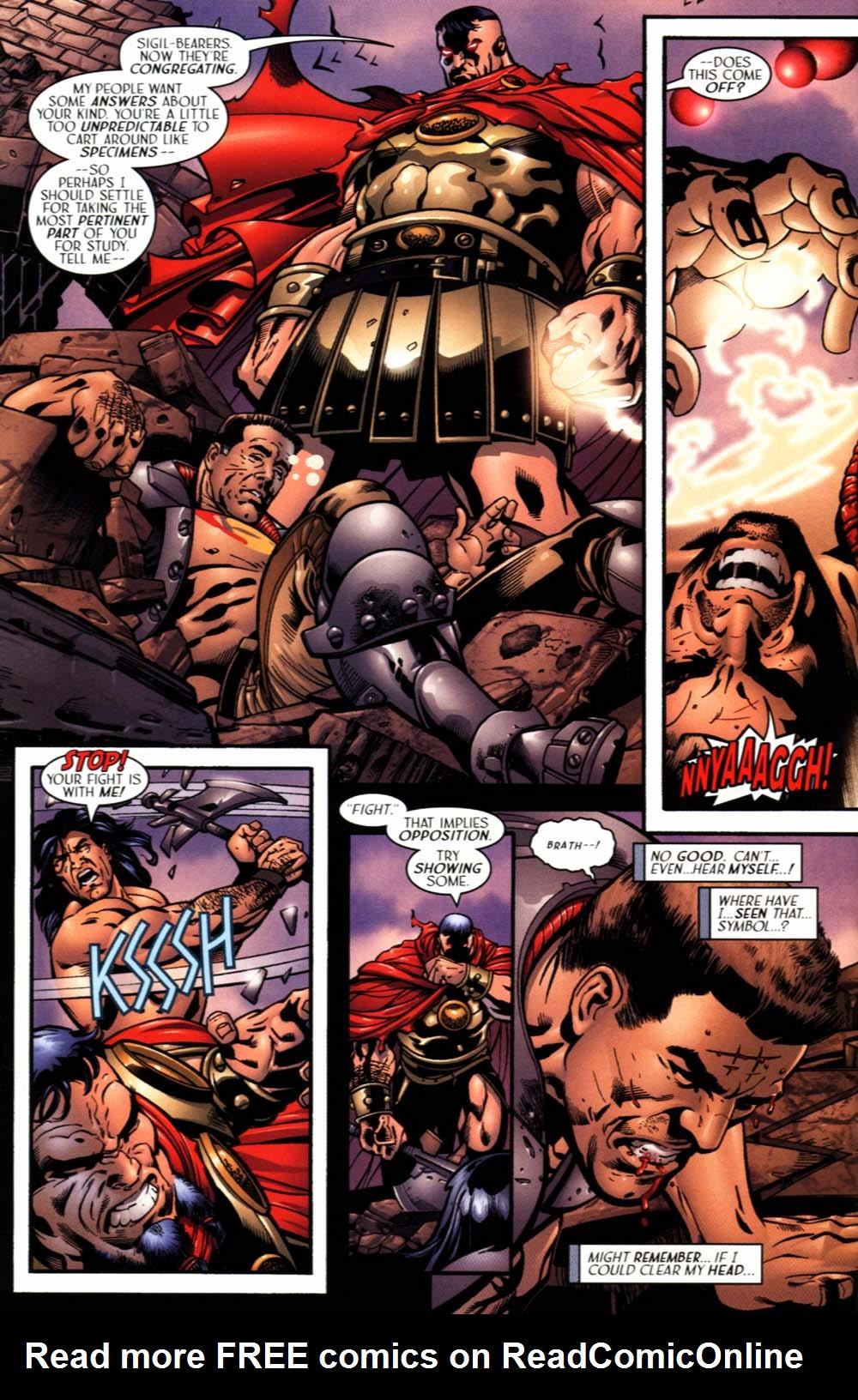 Read online Sigil (2000) comic -  Issue #19 - 16
