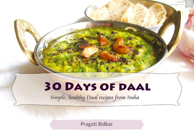 Book Review : 30 Days of Daal by Pragati Bidkar