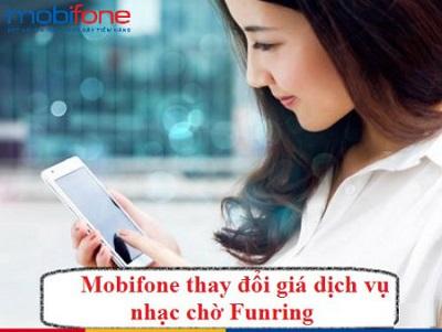 Giá cước nhạc chờ Mobifone