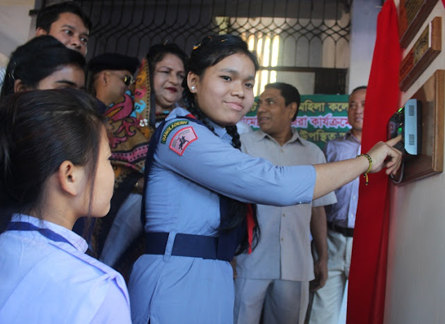 Rangamati-Government-Womens-College-appeared-in-biometric-method