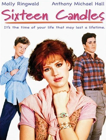 Poster Of Sixteen Candles In Dual Audio Hindi English 300MB Compressed Small Size Pc Movie Free Download Only At worldfree4u.com