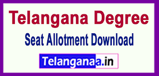 DOST Degree Seat Allotment 2017 Download