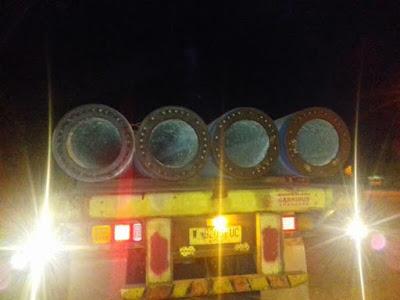 Dishub Tertibkan Truk Overload Lewati Jembatan Sungai Komering