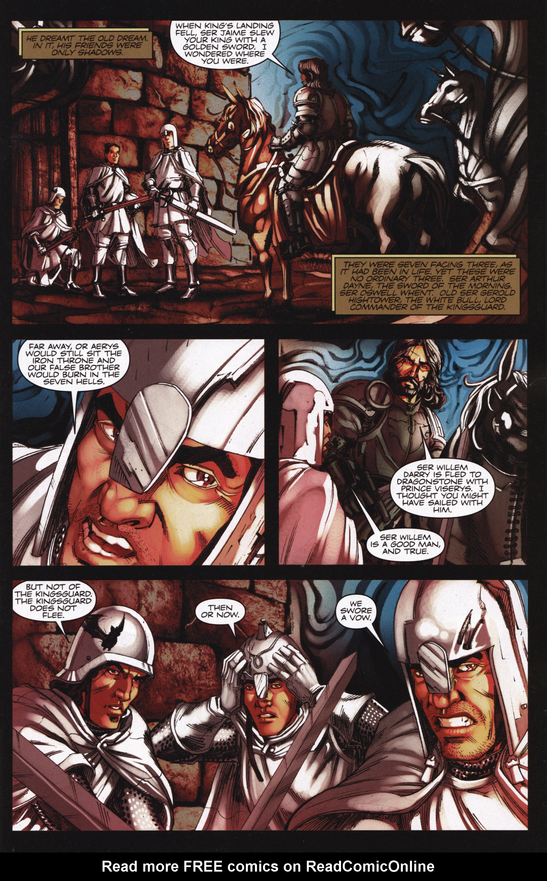 Read online A Game Of Thrones comic -  Issue #13 - 3