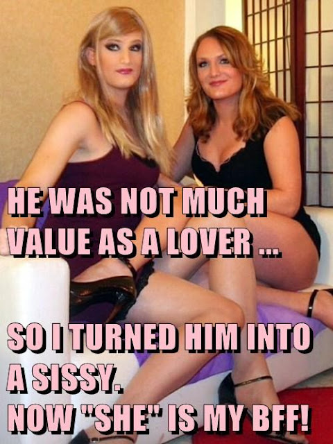 Not much value as a lover Sissy TG Caption - Brandi TG Tales - Crossdressing and Sissy Tales and Captioned images