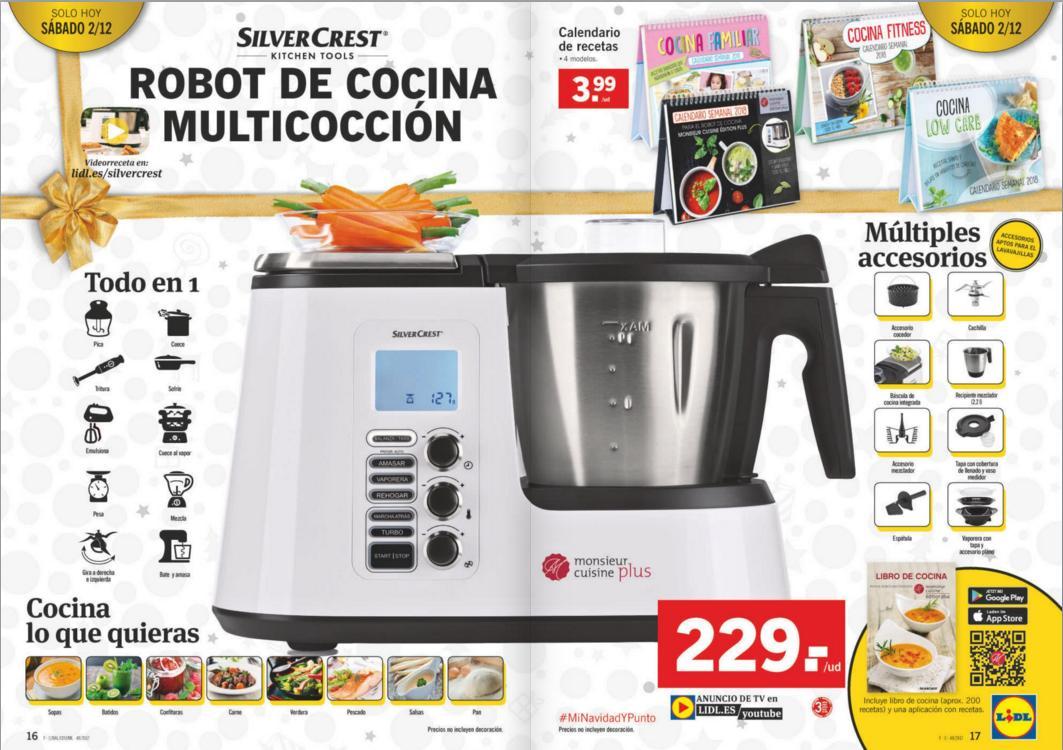 Monsieur cuisine f cil monsieur cuisine plus for Robot cocina lidl opiniones