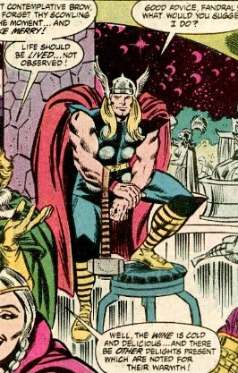 Thor 404 Great Gods of Asgard