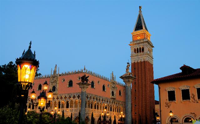 Pavilhão da Itália no Epcot em Orlando