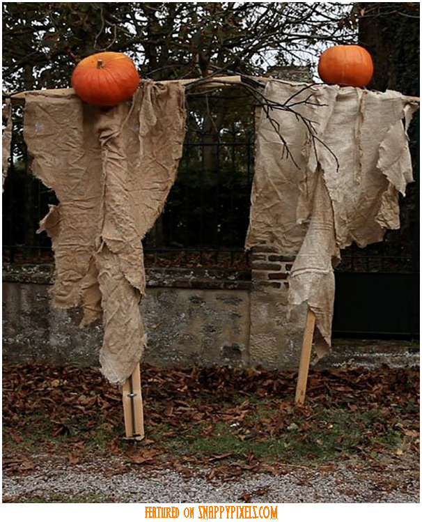 Ghost hunting theories diy easy simple halloween yard for How to make homemade halloween decorations
