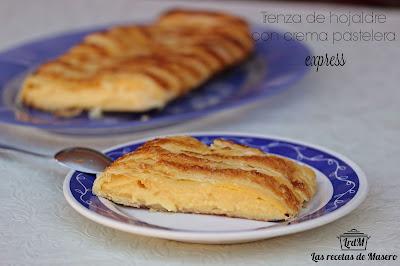 Trenza De Hojaldre Con Crema Pastelera Express