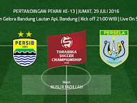 TSC 2016: Persib vs Persela