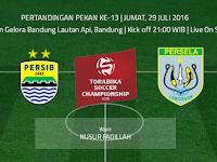 TSC 2016: Persib vs Persela