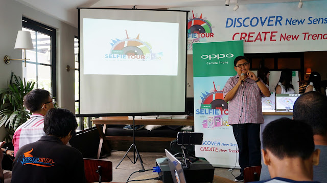 Aryo Meidianto Aji, Media Engagment OPPO Indonesia
